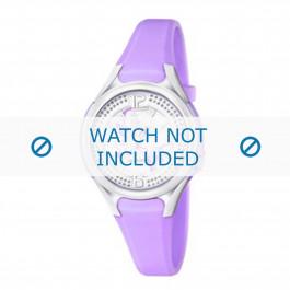 Calypso horlogeband K5575-4 Rubber Paars