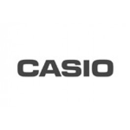 Pasek do zegarka Casio 10433814 Skórzany Czarny 13mm