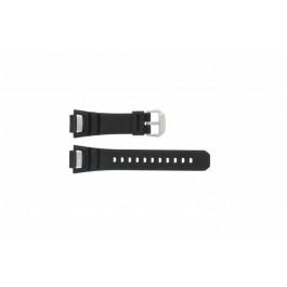 Pasek do zegarka Casio GS-1000J-1A / 10212982 / 10332054 Krzem Czarny 15mm