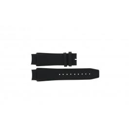 Pasek do zegarka Dolce & Gabbana 3719770097 Skórzany Czarny 20mm