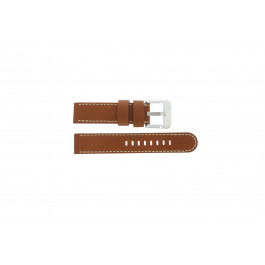 Pasek do zegarka Danish Design IQ12Q711 / IQ12Q888 Skórzany Brązowy 20mm