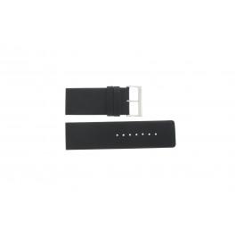 Pasek do zegarka Davis BB0330 Skórzany Czarny 30mm