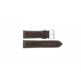 Pasek do zegarka Davis BB0453 Skórzany Brązowy 24mm