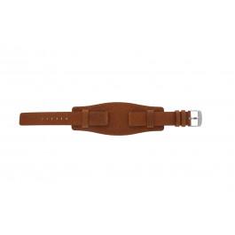 Pasek do zegarka Davis B0222 Skórzany Koniak 18mm