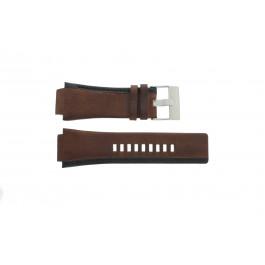 Pasek do zegarka Diesel DZ1092 Skórzany Brązowy 22mm