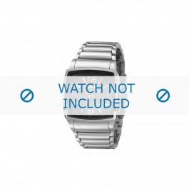 Diesel horlogeband DZ1306 Roestvrij staal (RVS) Zilver 28mm