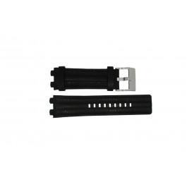 Pasek do zegarka Diesel DZ4118 / DZ4119 Skórzany Czarny 20mm