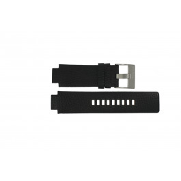 Pasek do zegarka Diesel DZ4146 Skórzany Czarny 16mm