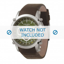 Diesel horlogeband DZ4151 Leder Bruin 24mm