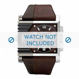 Diesel horlogeband DZ4186 Leder Bruin 36mm + bruin stiksel