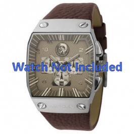 Pasek do zegarka Diesel DZ9038 Skórzany Brązowy 32mm