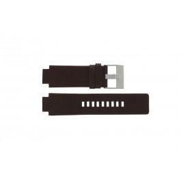 Pasek do zegarka Diesel DZ1123 Skórzany Brązowy 18mm