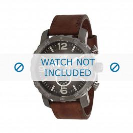 Pasek do zegarka Fossil JR1424 / 25XXXX Skórzany Brązowy 24mm