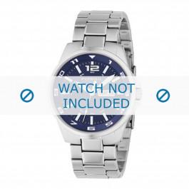 Fossil horlogeband AM4145 Staal Zilver 22mm