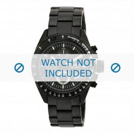 Pasek do zegarka Fossil CH2601 Stal Czarny 22mm