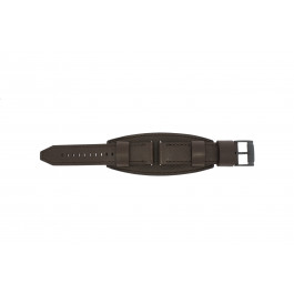 Pasek do zegarka Fossil JR1365 Skórzany Brązowy 25mm
