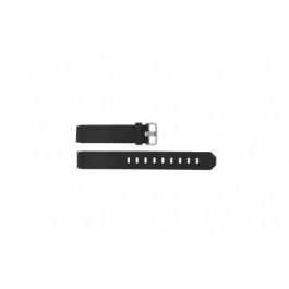 Pasek do zegarka Jacob Jensen 732 / 731 Gumowy Czarny 17mm