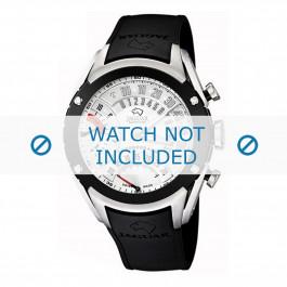 Pasek do zegarka Jaguar J659/1 Gumowy Czarny 20mm