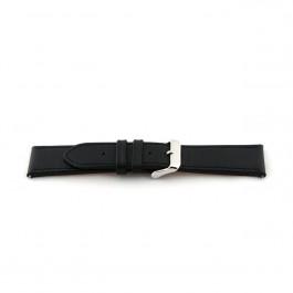 Pasek do zegarka Uniwersalny H010-XL Skórzany Czarny 22mm