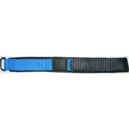 Pasek do zegarka Condor KLITTENBAND 412R Licht Blauw Rzep Niebieski 20mm