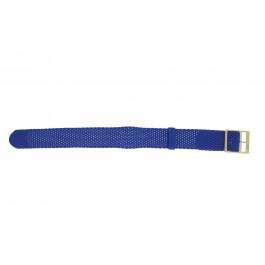 Pasek do zegarka Uniwersalny PRLN.18.LB Nylon/perlon Niebieski 18mm
