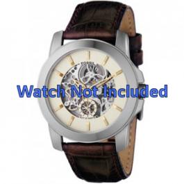 Pasek do zegarka Fossil ME1026 Skórzany Brązowy 22mm