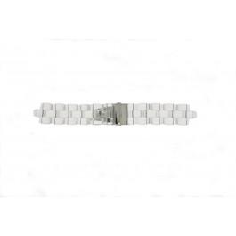 Pasek do zegarka Michael Kors MK5235 Plastikowy Przezroczysty 8mm