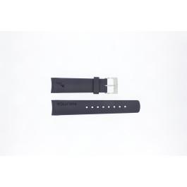 Pasek do zegarka Nautica A18640G / A30004G / A12627G / A12627G Gumowy Niebieski 22mm