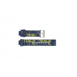 Pasek do zegarka Adidas ADH6106 Gumowy Niebieski 16mm