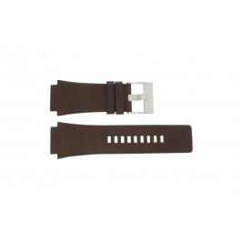 Pasek do zegarka Diesel DZ1132 Skórzany Brązowy 25mm