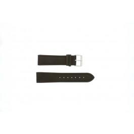 Pasek do zegarka Uniwersalny H372 Skórzany Brązowy 22mm