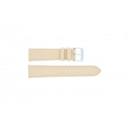 Pasek do zegarka Uniwersalny 283.26 Skórzany Brązowy 22mm
