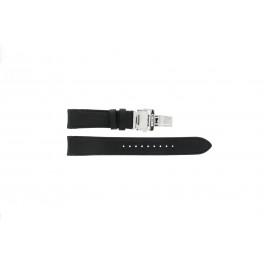 Pasek do zegarka Seiko 7D46-0AB0 / SNP015P1 / 4LA8JB Skórzany Czarny 20mm