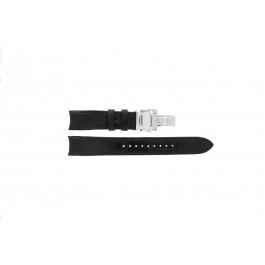 Pasek do zegarka Seiko 7D48-0AA0 / 7T62-0FF0 / SNP005P1 / 4KK6JZ / 34H6JZ Skórzany Czarny 20mm