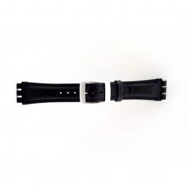 Pasek do zegarka Swatch (alt.) SC14.05 Skórzany Niebieski 19mm