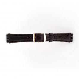 Pasek do zegarka Swatch (alt.) 21412.27 Skórzany Brązowy 19mm