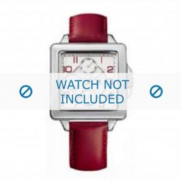 Pasek do zegarka Tommy Hilfiger TH-65-3-14-0786 Skórzany Czerwony