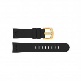 Pasek do zegarka TW Steel TWB101 Krzem Czarny 22mm