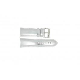 Pasek do zegarka Uniwersalny 369.31 Skórzany Szary 26mm