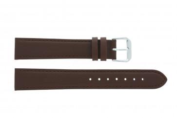 Pasek do zegarka Uniwersalny 054.02 Skórzany Brązowy 16mm