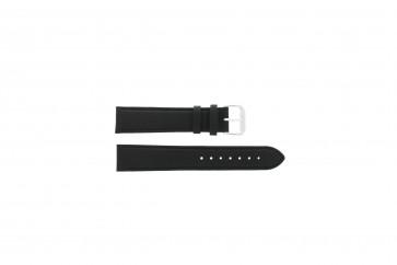 Pasek do zegarka Uniwersalny 054.01.18 Skórzany Czarny 18mm