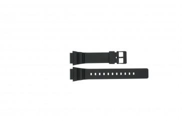 Casio horlogeband MRW-200h / 10393907 Rubber Zwart 18mm
