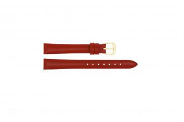 Pasek do zegarka Uniwersalny 241R.06 Skórzany Czerwony 12mm