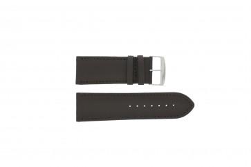 Pasek do zegarka Uniwersalny 271.02 Skórzany Brązowy 32mm