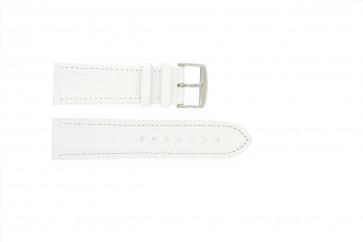 Prawdziwy Skóra Biały 22mm Pvk-283