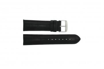 Pasek do zegarka Uniwersalny 285R.01 Skórzany Czarny 20mm