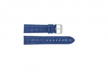 Pasek do zegarka Uniwersalny 285R.05 Skórzany Niebieski 20mm