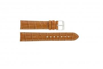 Pasek do zegarka Uniwersalny 285.27 Skórzany Brązowy 24mm