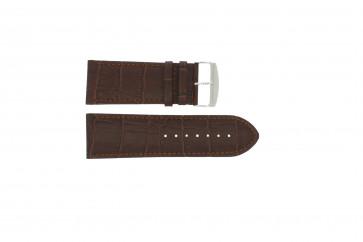 Pasek do zegarka Uniwersalny 305.02 Skórzany Brązowy 28mm