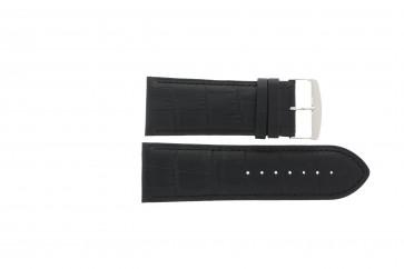 Pasek do zegarka Uniwersalny 305R.01 Skórzany Czarny 28mm